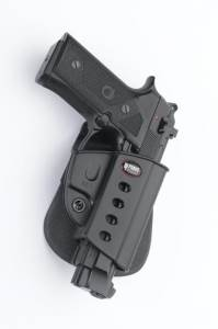 Beretta 92FS Evolution Paddle Holster (rail and Non-rall)