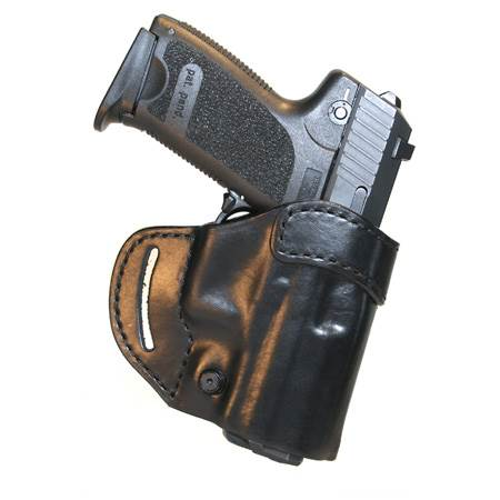 Leather Compact Askins Holster for Ruger P89-Left Hand