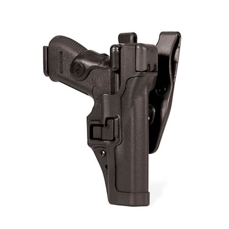 Level 3 Serpa Auto Lock Duty Holster for Colt 1911 and clones with or w/o rails (not full length) -Left Hand