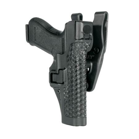 BlackHawk Level 3 Serpa Auto Lock Duty Holster-Left Hand (BH-44H109BK-L)
