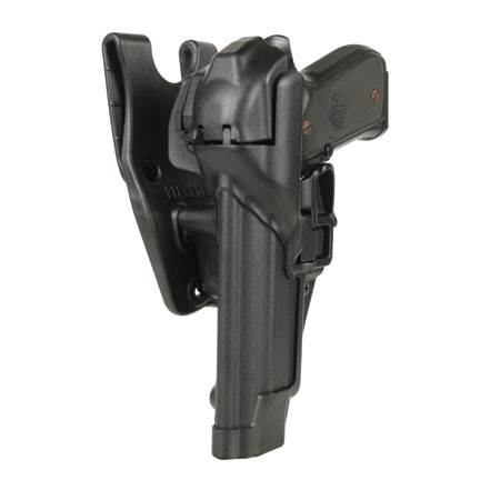BlackHawk Level 3 Serpa Auto Lock Duty Holster-Left Hand (BH-44H116BW-L)