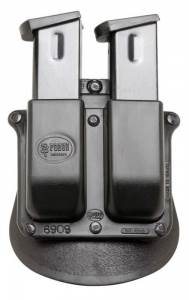 Springfield XD-9 Bersa Mini Firestorm, Thunder UC 9mm and .40 - Double Magazine Roto-Paddle Pouch