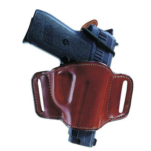 Glock 19 Bianchi Model 105 Minimalist™ Belt Slide Holster With Slots Right Hand