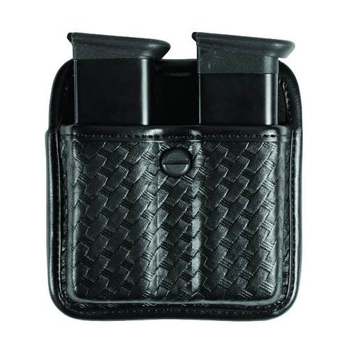 Beretta 92FS Accumold� Elite� Triple Threat� II Double Magazine Pouch Plain Black Size 02