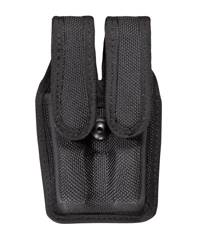 Browning High Power 7344 Accumold� Slimline Double Magazine Pouch Black Hidden