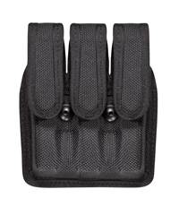 Browning High Power 7345 Accumold� Slimline Triple Magazine Pouch Black Hidden