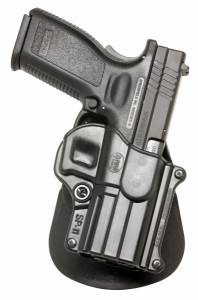 "Springfield Armory XD .40 5"" 4"" 3"" Compact Roto-Paddle Holster"